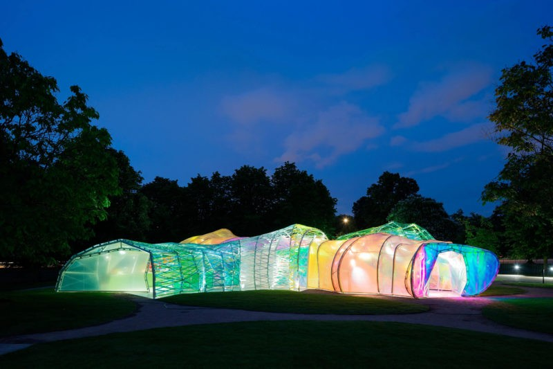 SelgasCano - Serpentine Gallery Pavilion, London, 2015, 4.6 x 27m