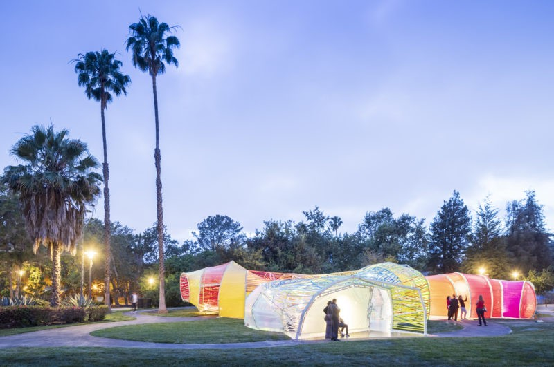 SelgasCano - The Second Home Serpentine Pavilion, 2019, La Brea Tar Pits, Los Angeles