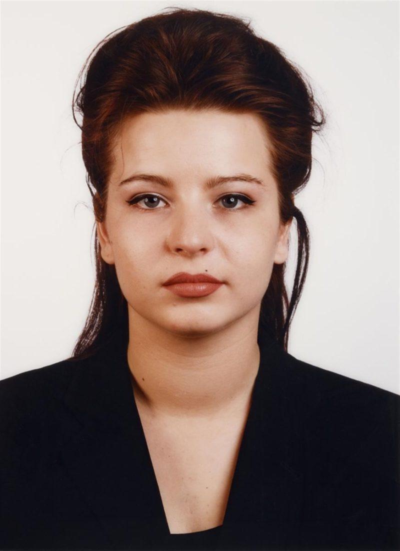 Thomas Ruff - Portrait (J. Renzel), 2001