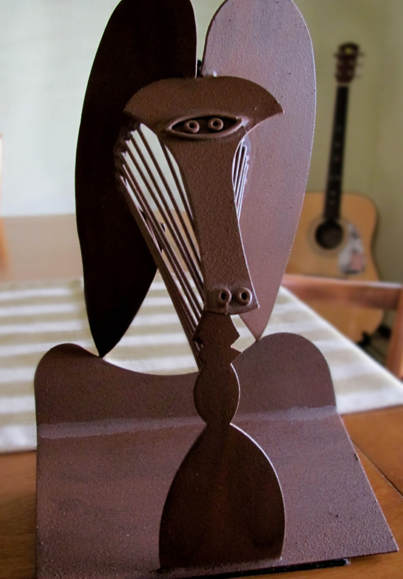 Pablo Picasso - Untitled (Chicago Picasso), welded steel, private collection