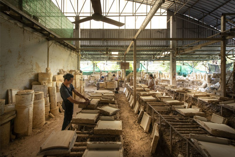 Production of Sher Maker's PTT Saraphi, 2019, Chiang Mai, Thailand
