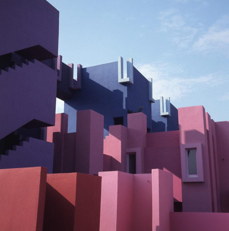 Ricardo Bofill – La Muralla Roja, 1973, Calpe, Alicante, Spain - Detail