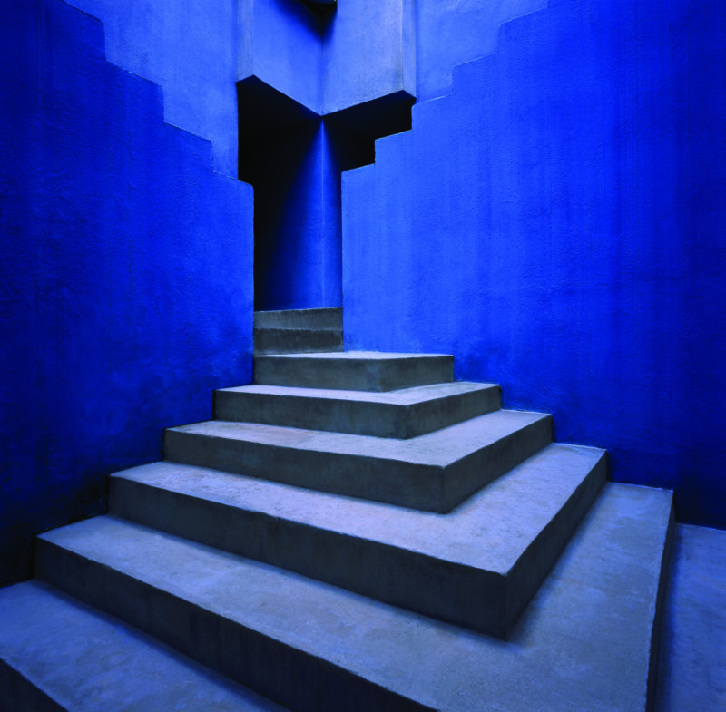 Ricardo Bofill – La Muralla Roja, 1973, Calpe, Alicante, Spain - Staircase