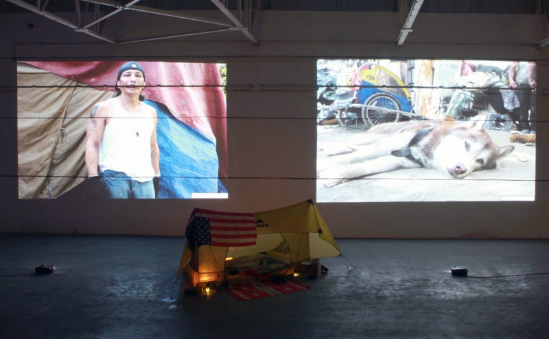 Failure of the American Dream - Installation view, The Clockwork Factory, London, 2014