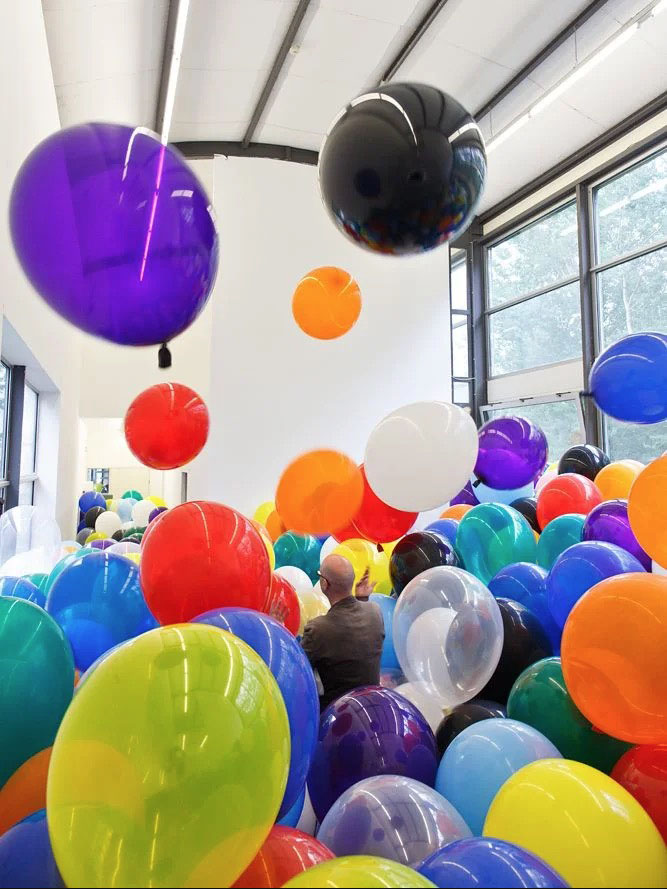 Martin Creed fills entire museums with his balloons