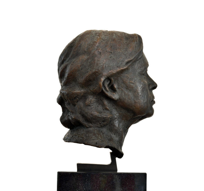 Dr. Gindi - Voyage into Vacuity, 2018, bronze, 40 x 22 x 24 cm