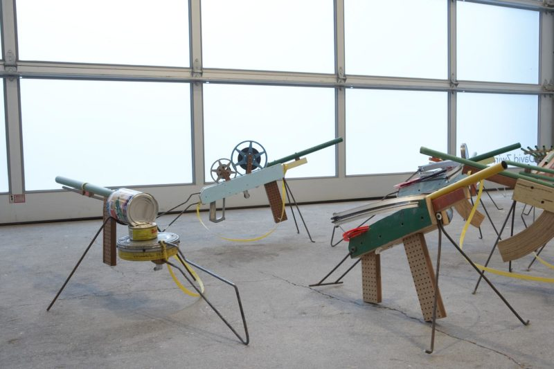 Installation view of Francis Alÿs - Sometimes doing something poetic can become political and sometimes doing something political can become poetic, David Zwirner, New York, 2007