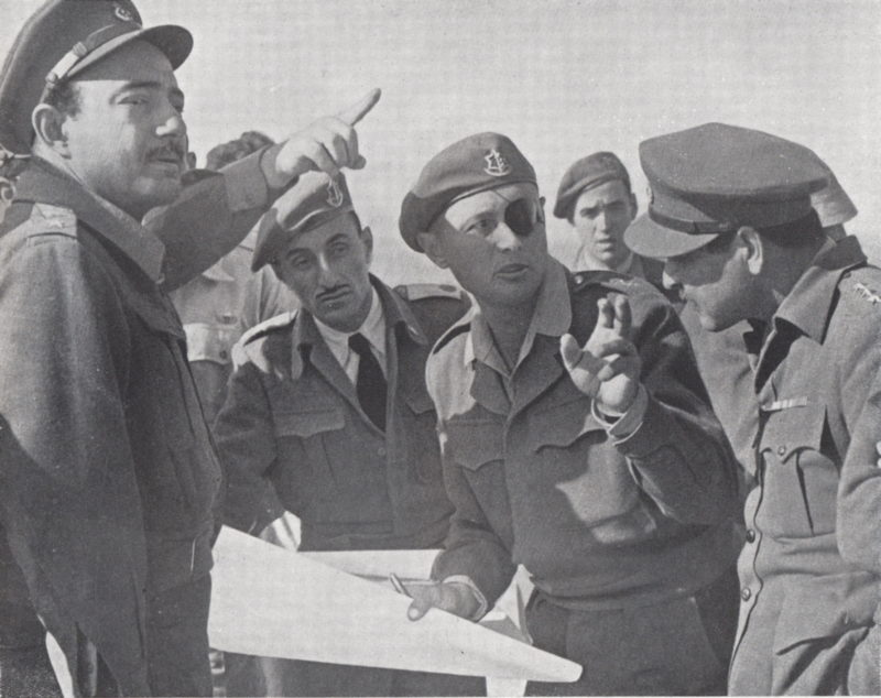 Lieutnant General Moshe Dayan (Chief of Staff) & The armistice agreements